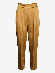 This elegant trousers are made from a luxurious po lyester s - bukser med lige ben - bistre
