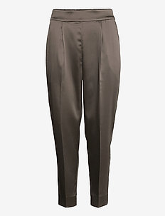 This elegant trousers are made from a luxurious po lyester s - suorat housut - sea turtle