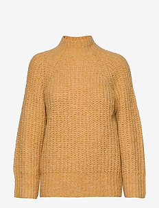 Canis Knit O-Neck - pullover - golden rod