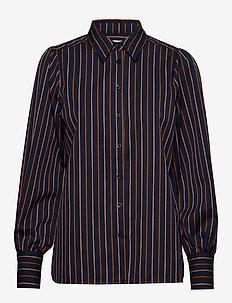 Agona LS Shirt - långärmade skjortor - night sky