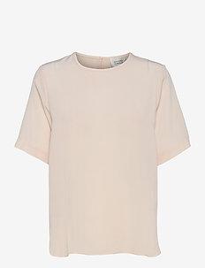 Tonga Silk SS T-Shirt - t-shirts - crystal gray