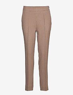 Lena HW Trousers - bukser med lige ben - brandied melon