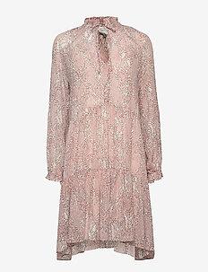 Crayon Short Dress - EGGNOG