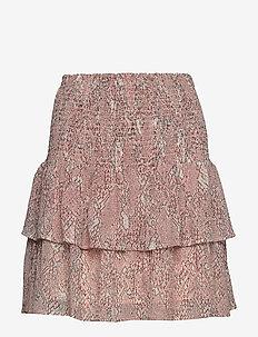 Crayon MW Short Skirt - korte nederdele - eggnog