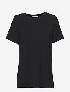Ello Loose SS Tee - t-shirts - black