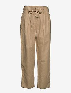 Selene MW Trousers - straight leg trousers - cuban sand