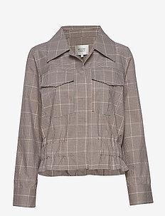 Jimena LS Shirt - vestes legères - rubber