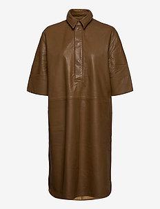 Indie Dress - midi kjoler - butternut