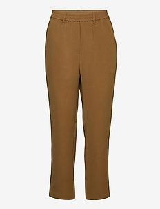 Naomi MW Trousers - bukser med lige ben - butternut