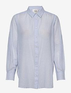 Dominus LS Shirt - langermede skjorter - chambray blue
