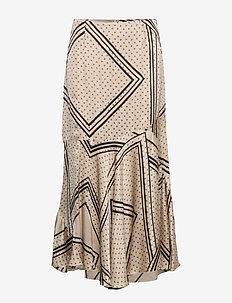 Isa HW Skirt - maxi nederdele - abbey stone