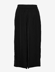 Minga New Trousers - vida byxor - black beauty