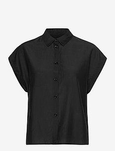Auso Shirt - kortermede skjorter - black beauty
