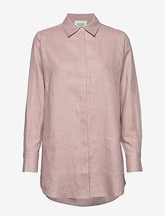 Lune LS Shirt - overhemden met lange mouwen - pale mauve