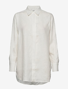 Lune LS Shirt - chemises à manches longues - white alyssum