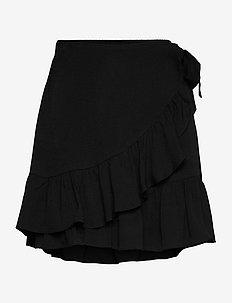 Kimmy Short Skirt - korte nederdele - black beauty