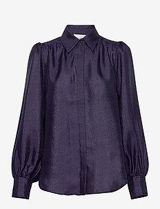 Rosalina LS Shirt - langermede bluser - eclipse