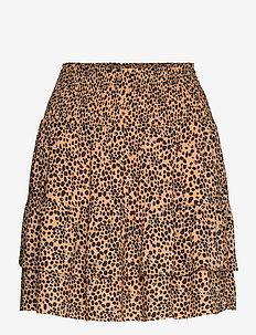 Eli Short Skirt - korta kjolar - desert mist