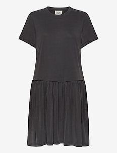 Rayes Tee Dress - short dresses - black beauty