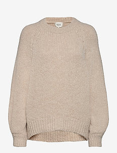 Milffa Knit O-Neck - jumpers - ginger root