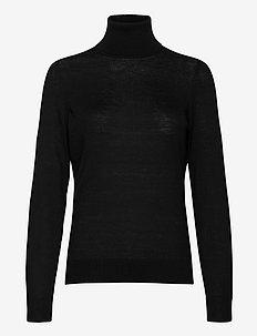 Felina Knit T-Neck - golfy - black