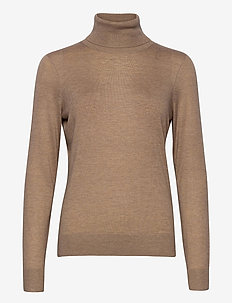 Felina Knit T-Neck - golfy - ginger root