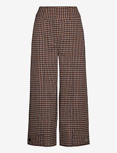 Branley Trousers - vide bukser - black