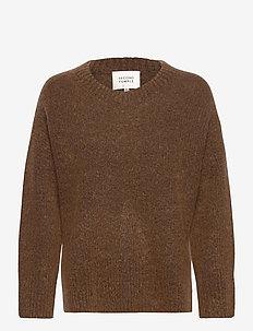 Koorb Knit O-Neck - trøjer - camel