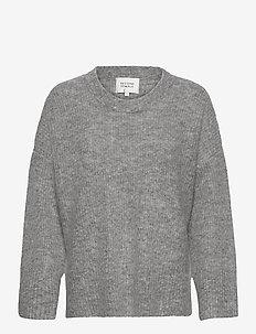 Koorb Knit O-Neck - trøjer - grey melange