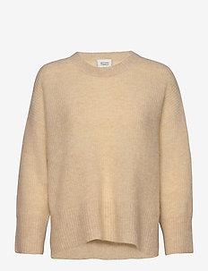 Koorb Knit O-Neck - trøjer - marzipan