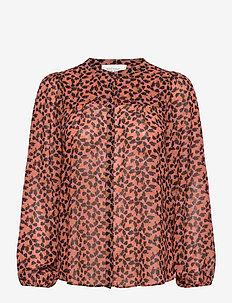 Hilma Shirt - bluzki z długimi rękawami - desert sand