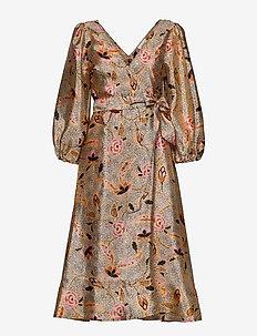 Eske Dress - midi kjoler - marzipan
