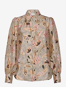 Eske Shirt - langermede bluser - marzipan