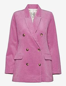 Donella Classic Blazer - oversized blazere - moonlight mauve