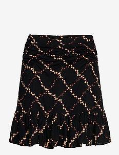 Louis Skirt - jupes courtes - caviar