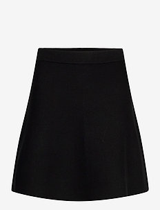 Octavia Knit Skirt - jupes courtes - black