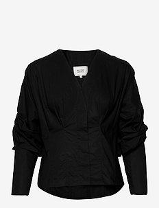 Addison Shirt - bluzki z długimi rękawami - black