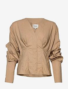 Addison Shirt - langermede bluser - ginger root