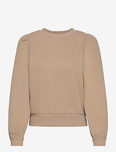 Carmella Sweat - sweatshirts - cement