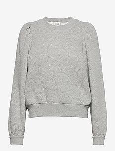 Carmella Sweat - sweatshirts - light grey melange