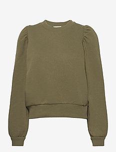 Carmella Sweat - sweatshirts - olive night