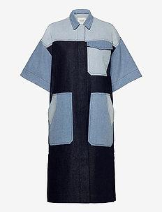 Denisa Coat - lette frakker - blue denim