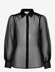 Opal Shirt - blouses med lange mouwen - black