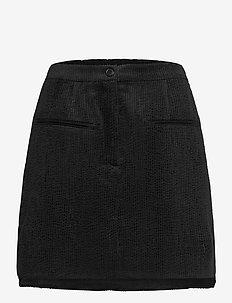 Boyas New Skirt - kurze röcke - black
