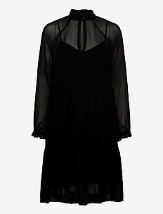 Tul Dress - midi kjoler - black
