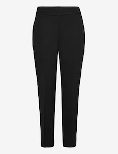 Garbo Trousers - raka byxor - black