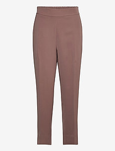 Garbo Trousers - raka byxor - peppercorn