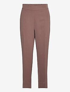 Garbo Trousers - bukser med lige ben - peppercorn