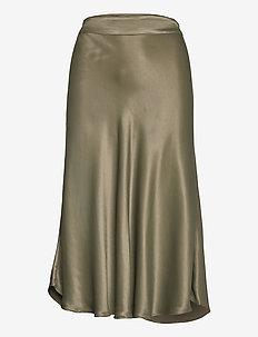 Eddy New Skirt - midi kjolar - olive night