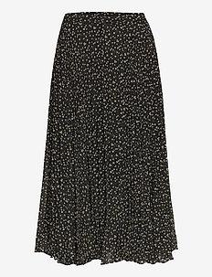 Della Skirt - midi kjolar - caviar